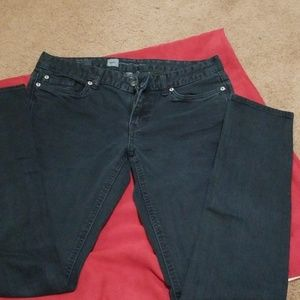 Black Mossimo Skinny Jeans